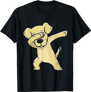labrador Lover Gift Dabbing Labrador T-Shirt