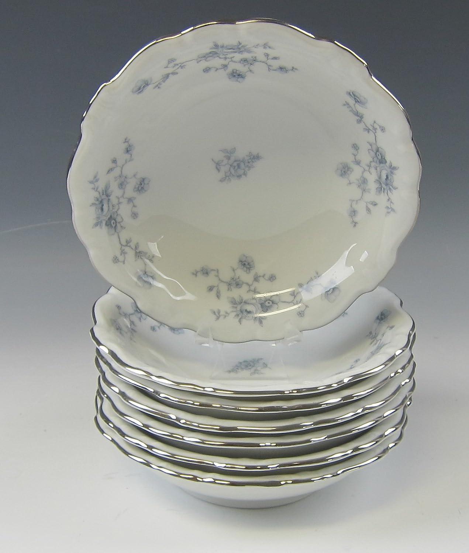Lot of 7 Johann Opening large release sale Haviland BLUE EX Dessert Bowls GARLAND Fruit and Max 59% OFF