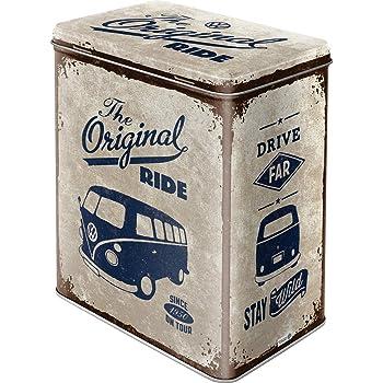 Nostalgic-Art Caja metálica de Estilo Retro - VW Bulli The Original Ride: Amazon.es: Hogar