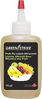 GreenStrike 10055 Refill Bottle for Fruit Fly Traps, Clear