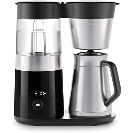 OXO BREW 9 Cup Programmable Coffee Maker, Silver