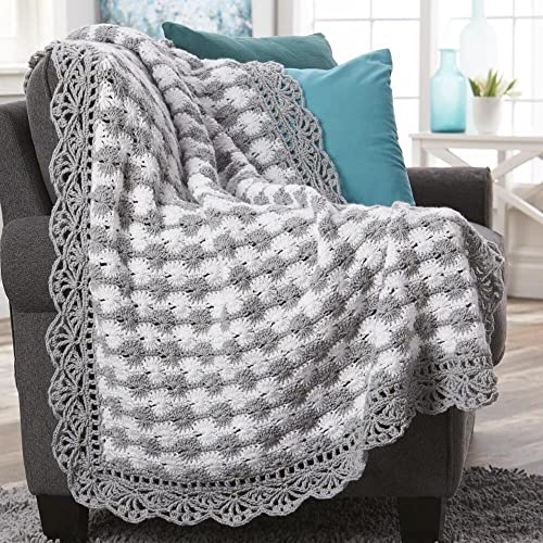 Crochet Afghan Kits with Yarn: Amazon com