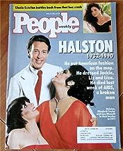 People Weekly Magazine April 9, 1990 (Halston 1932-1990, Gloria Estefan)