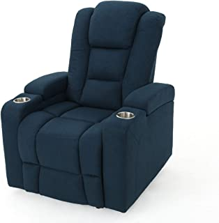 Everette Power Motion Recliner with USB Charging Port & Hidden Arm Storage, Assisted..