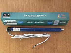 240V AC Tubular Blind Motor for Roller Blinds, Shutter, 6NM Suitable for 41-43mm Inner Diameter Tubes