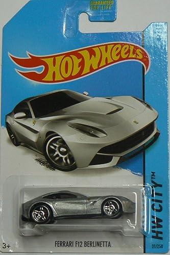2014 t Wheels HW CITY 31 250 fürari F12 rlinetta Silber