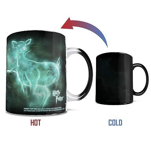 Harry Potter - Always - Patronus - 11 oz Morphing Mugs Heat Sensitive Mug – Ceramic Color Changing Coffee Tea Mug