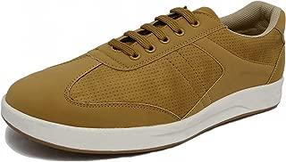 Marc Loire Men Casual Lace-Up Shoes, Faux Leather Sneakers - ML0075120140-P