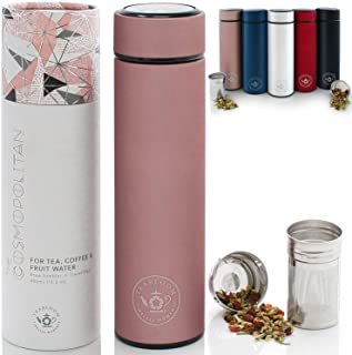 Teabloom All-Purpose Beverage Tumbler | Oprah's Favorite | 16oz/480ml – Brushed..