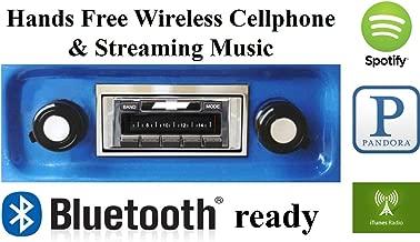 Custom Autosound Stereo + BLUKIT compatible with 1967-1972 Chevrolet Truck, USA-630 II Bluetooth Enabled High Power 300 watt AM FM Car Stereo/Radio