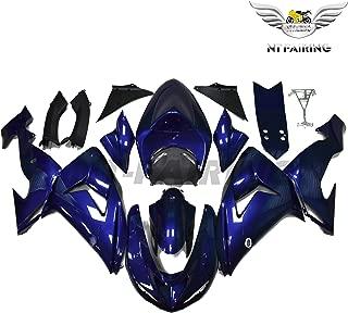 NT FAIRING Fit for Kawasaki Ninja ZX10R 2006 2007 Blue Injection Molded Fairings Kit Body Kit Bodywork Plastic Bodyframe