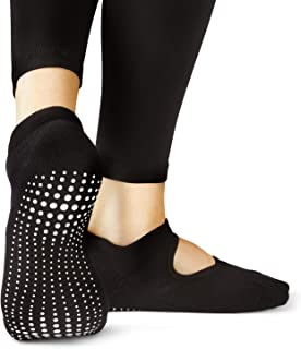LA Active, Calcetines Antideslizantes - Para Yoga Pilates Ballet Barre Mujer Hombre - Ballet