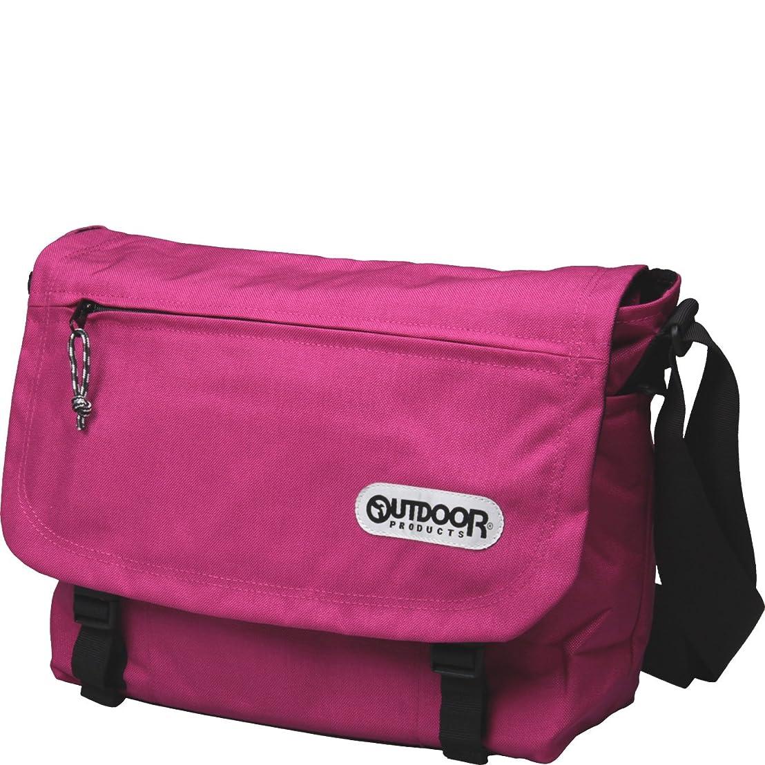 ゴールデン羊まとめるアウトドア/OUTDOOR PRODUCTS フラップショルダーバッグ 62031/ピンク