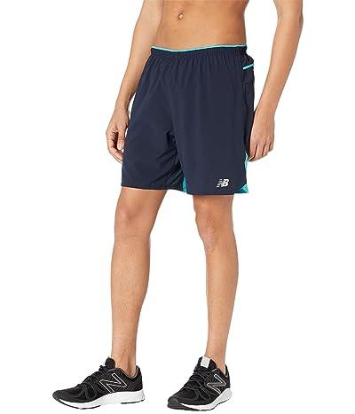 New Balance Impact Run 7-Inch Shorts (Virtual Sky) Men