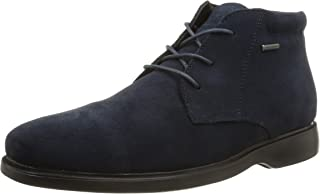 Geox U Brayden 2Fit ABX D, Zapatos de Cordones Derby Hombre