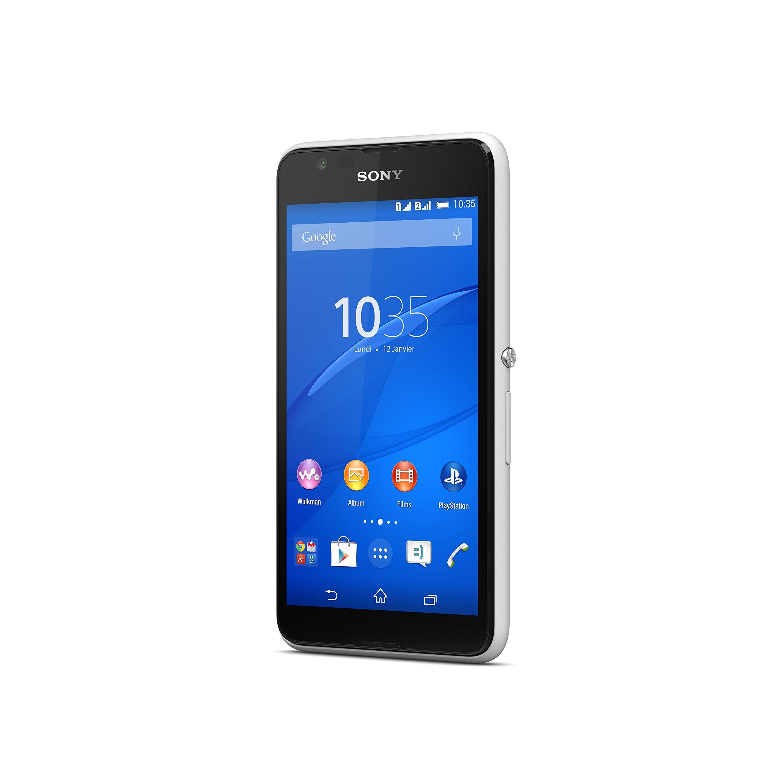 Sony Xperia E4g - Smartphone Libre Android (Pantalla 4.7