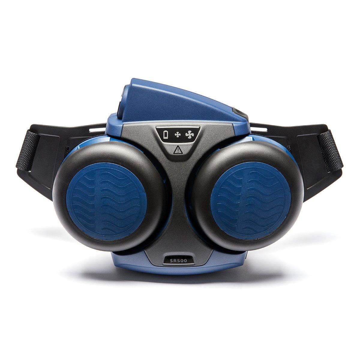 Sundström Fan SR 500 Protección respiratoria (partículas y gas) con soporte de ventilador, con filtro