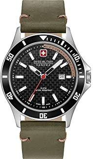 Swiss Military Hanowa - Reloj Analógico para Unisex Adultos de Cuarzo con Correa en Acero Inoxidable 06-4161.2.04.007.14