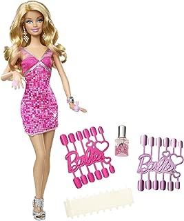 Barbie Loves Glitter Nails Doll
