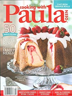 Cooking With Paula Deen March / April 2018 Spring Recipes FREE SHIPPING
