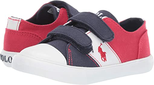 Navy/Red Canvas/White Ripstop/Red Pony