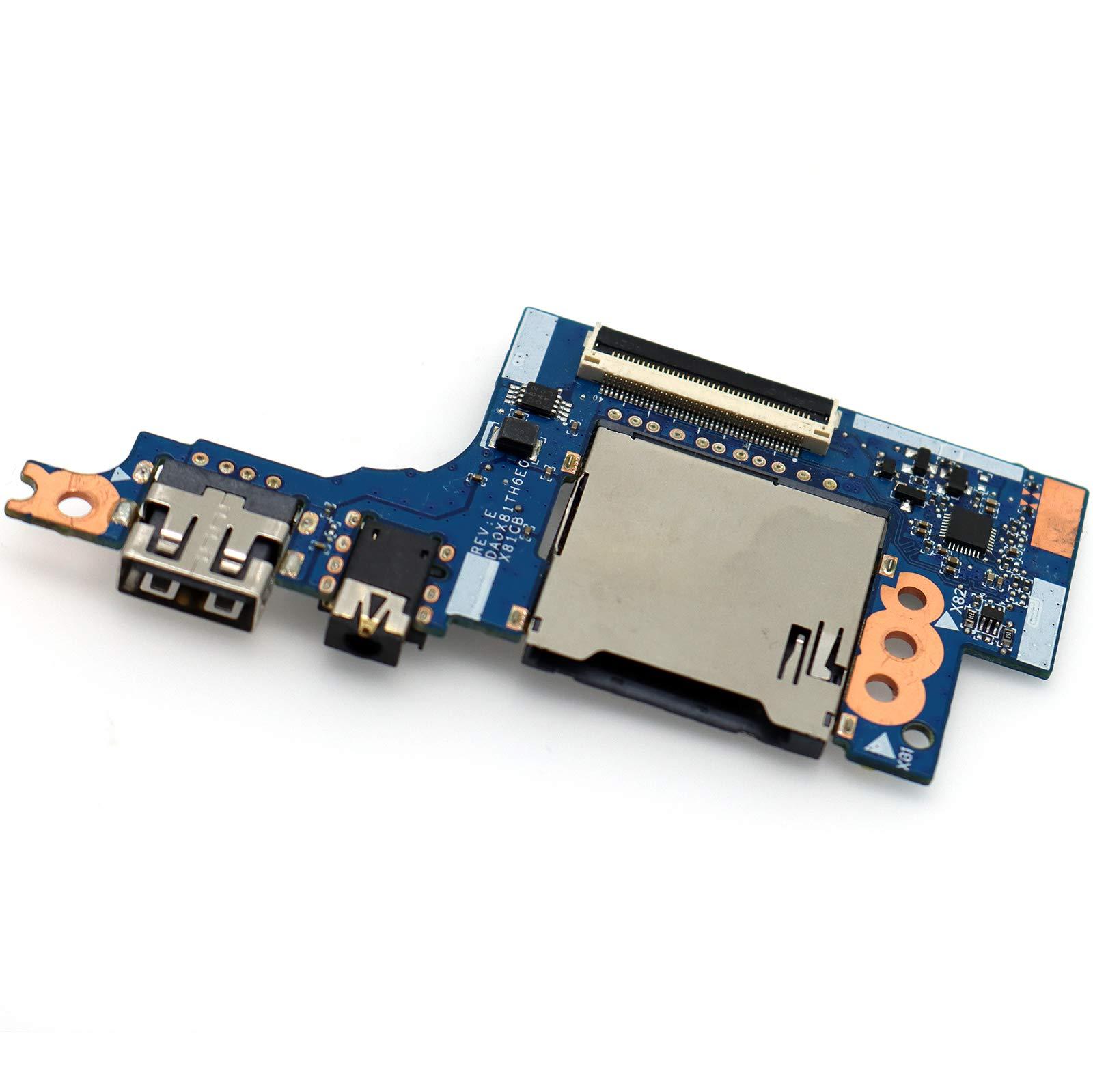 3.5mm Audio USB Board SD HP ProBook 446 G4 440 G4 430 G4 DA0