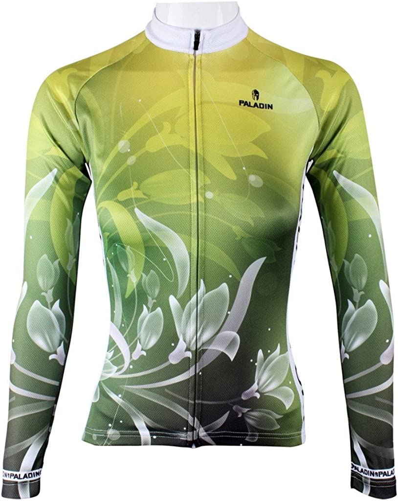 LAOYOU Green Max New color 50% OFF Lily Womens Cycling To Size XS Jersey 6XL