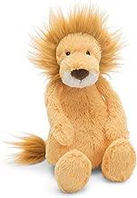 Jellycat Bashful Lion Stuffed Animal, Small, 7 inches