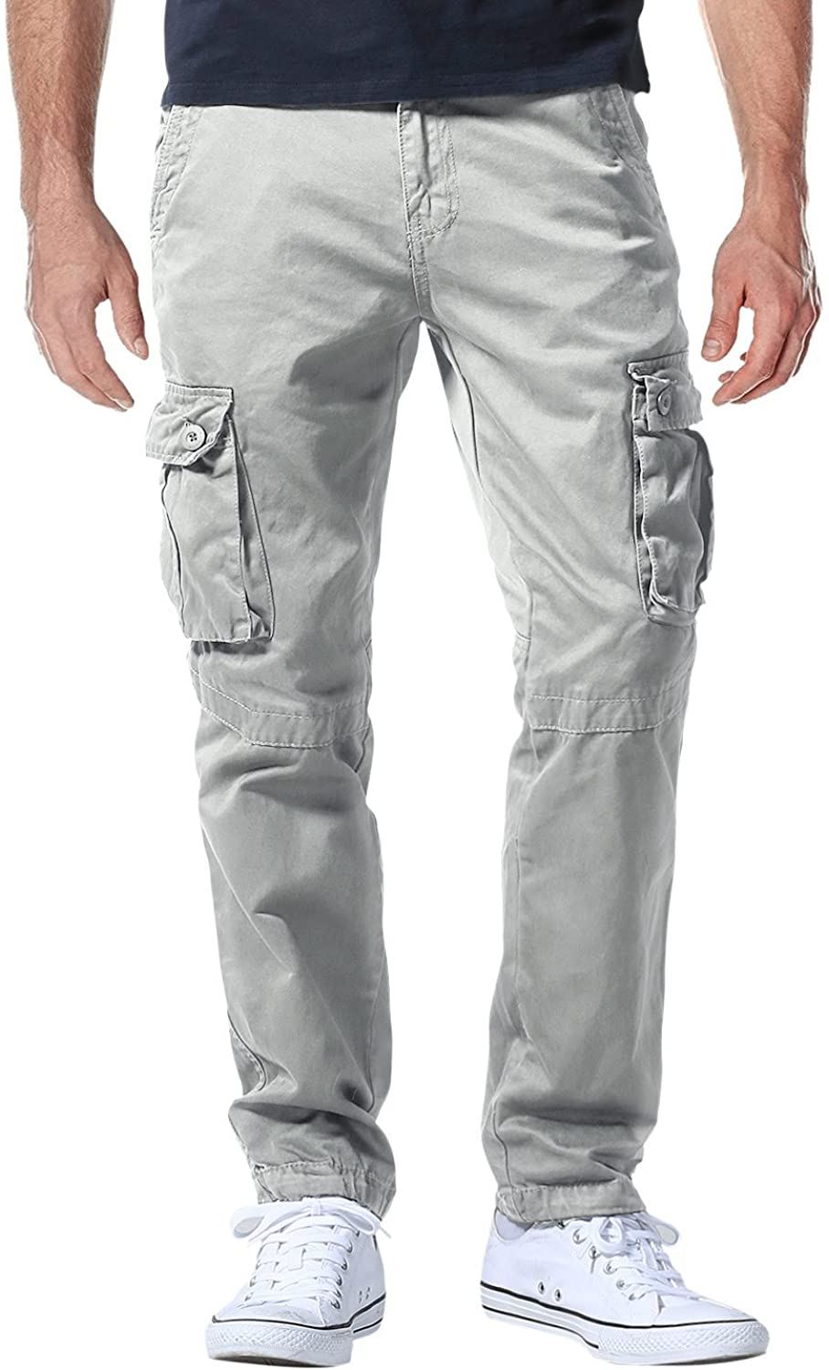 Max 59% OFF Match Men's Athletic-Fit Cargo Max 52% OFF Pants