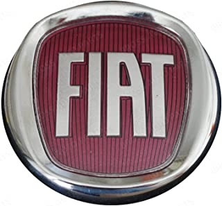 Bross BSP831 Rear Boot Badge Decal Crest Red Logo 95mm For FIAT DOBLO, PALIO,