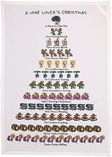 Mistletoe & Co. A A Wine Lover's Christmas Kitchen Towel, 18
