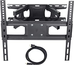 VideoSecu MW340B2 TV Wall Mount Bracket for Most 32-65 Inch LED, LCD, OLED and Plasma Flat Screen TV, with Full Motion Tilt Swivel Articulating Dual Arms 14