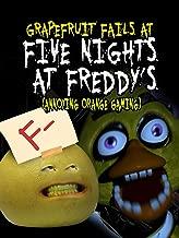 Clip: Grapefruit Fails at Five Nights at Freddy's (Annoying Orange Gaming)