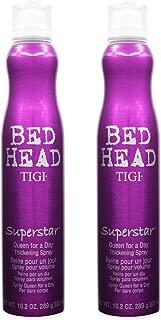 TIGI Bedhead Superstar Queen for a Day Thickening Spray, 10.2 oz, 2 pk