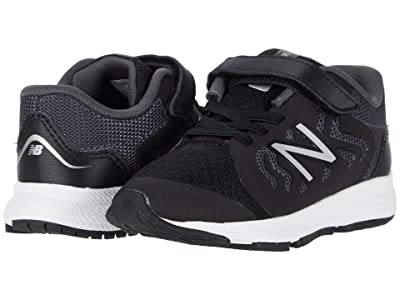 New Balance Kids 519v2 (Infant/Toddler) (Black/Magnet) Boy