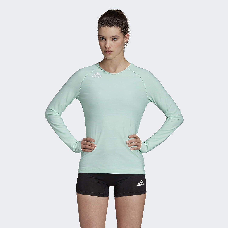 Amazon.com: adidas Women's Hilo Long-sleeve Jersey : Clothing ...