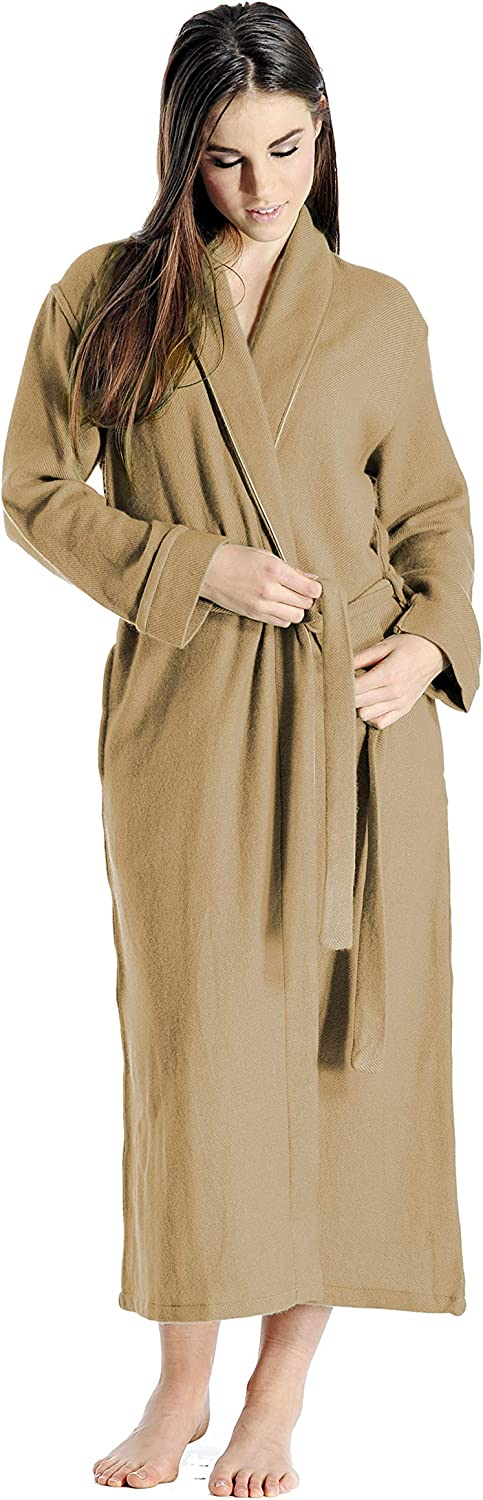 Free shipping / New Cashmere Latest item Boutique: 100% Pure Robe Colors 15 for Women