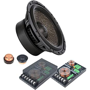 GROUND ZERO GZUT 25SQX Uranium Coppia Tweeter 110 w high Sound quality per auto