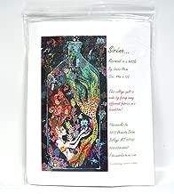 Sirene Mermaid in a Bottle Fiberworks Fused Art Quilt Pattern