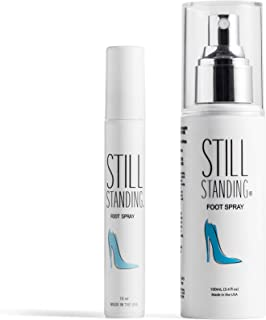Still Standing Spray PREVENTS High Heel Discomfort - Painless Heels Relief Spray - Pain Relief for High Heels - Large and Mini Purse Spray for Any Height Heel or Thin Soled Shoe