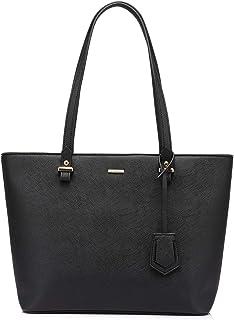 Handbags for Women Large Purses Leather Tote Bag School Shoulder Bag with External Pocket