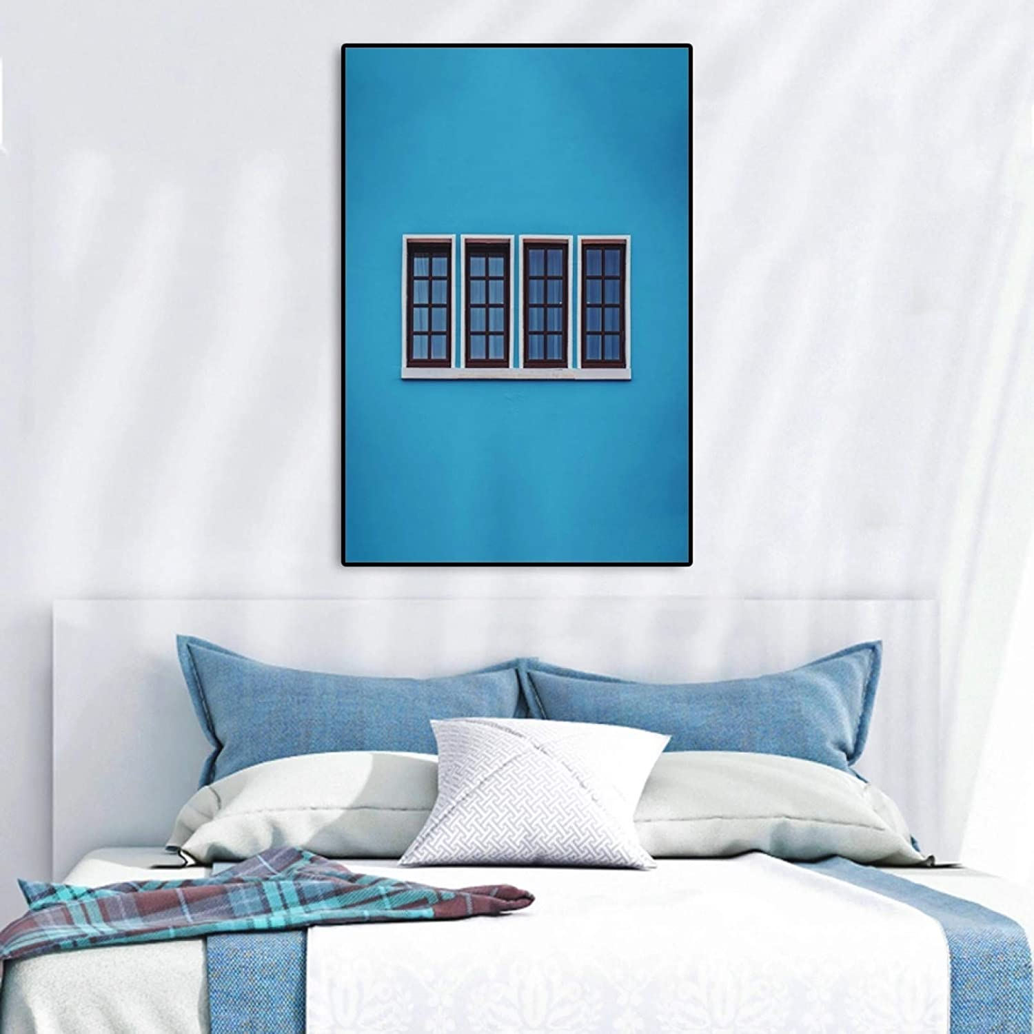 Canvas Prints Modern Style Max 57% OFF House Al sold out. Building All of C Kinds Windows