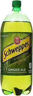 Schweppes Ginger Ale Soda, 2 Liter Bottle
