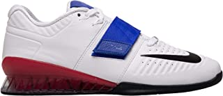 Nike Romaleos 3 Xd Adult Unisex Sneakers AO7987-104, White/Black-Racer Blue-Ember Glow, Size US 11