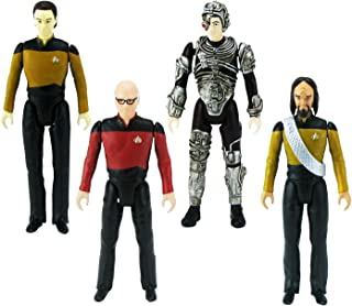 Bif Bang Pow! The Big Bang Theory/Star Trek: The Next Generation Figures Set, 3 3/4