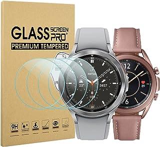 Diruite 4-pack för Samsung Galaxy Watch 4 Classic 42 mm (2021) skärmskydd, HD-glas härdat glas för Samsung Galaxy Watch 4 ...