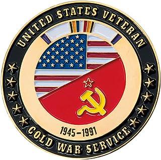 Cold War Veteran USA/Soviet Challenge Coin