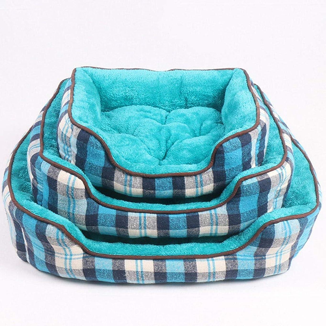 マナー嵐のボトルPeii Rori 長方形 犬小屋 ベッド 猫寝袋 ペット用品 ポータブル 軽量 ペットマット ペットクッション 寝心地がよい (Color : As-picture, サイズ : M)