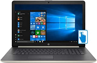 "HP 17.3"" High Performance Touchscreen Laptop in Pale Gold (Intel i5-8250U 4-Core, 16GB RAM, 1TB HDD, 17.3"" HD 1600x900 Touch, AMD Radeon 530, WiFi, Webcam, Microphone, Win 10 Home)"