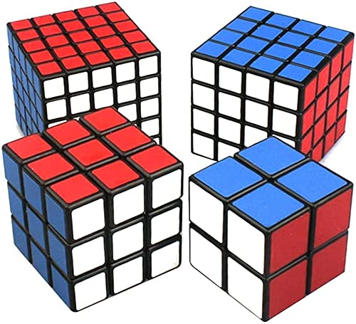 Venta al por mayor barato y de alta calidad. negro Cube Puzzle Bundle Pack,2x2x2,3x3x3,4x4x4,5x5x5 Set,shengshou Set,shengshou Set,shengshou Speed Cube Collection  ventas en linea